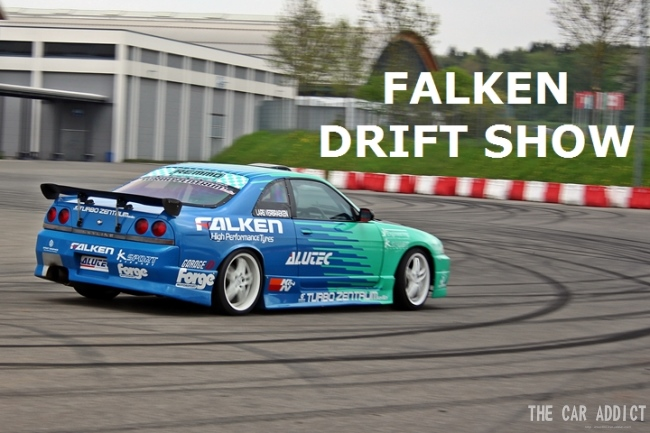 FALKEN Drift Show at TUNING WORLD Bodensee 2013