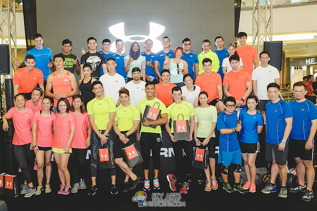 All the fit people in Malaysia who gathered up for Under Armour Earn Your Armour
