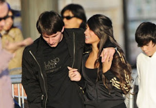 Lionel Messi Girlfriend Antonella Roccuzzo 2013