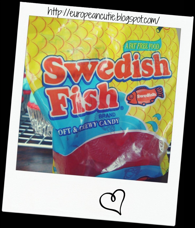 European cutie mini fish and chips and friday fishing for Swedish fish recipe