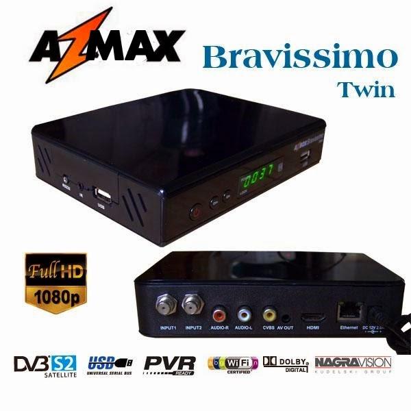NOVA ATT AZMAX  BRAVISSIMO TWIN PLUS HD AZ-MAX DE 22.06 - 27.06.2014