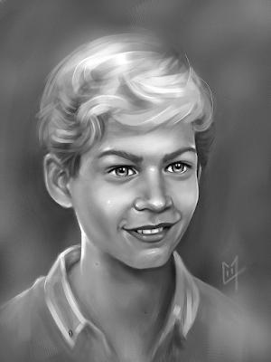 Paul Walker portrait 3 jeune young