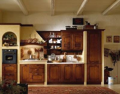Decora el hogar decoraci n cocinas r sticas - Decoracion cocina rustica ...