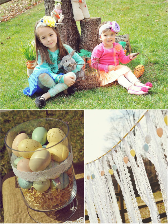 A Sweet Family Brunch Easter Egg Hunt Party Party Ideas