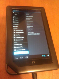 Android ICS Ported Nook Color