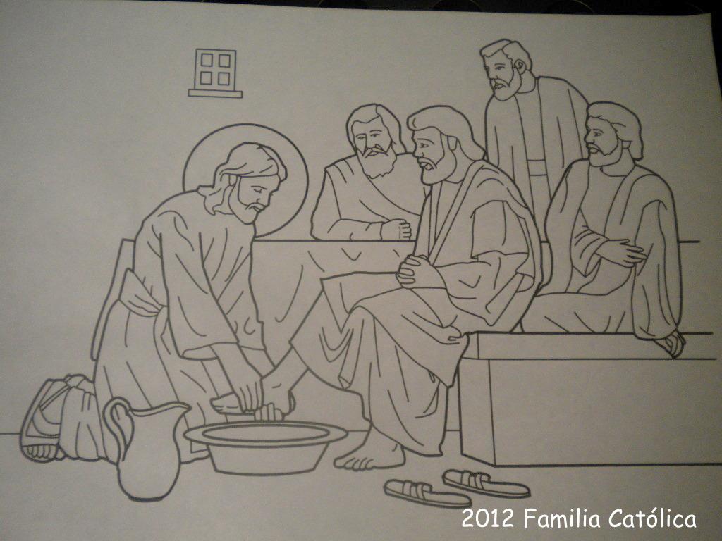 Familia Católica: Semana Santa: Hermosas páginas para colorear de ...