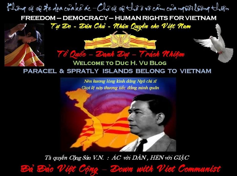 Duc H. Vu's Blog