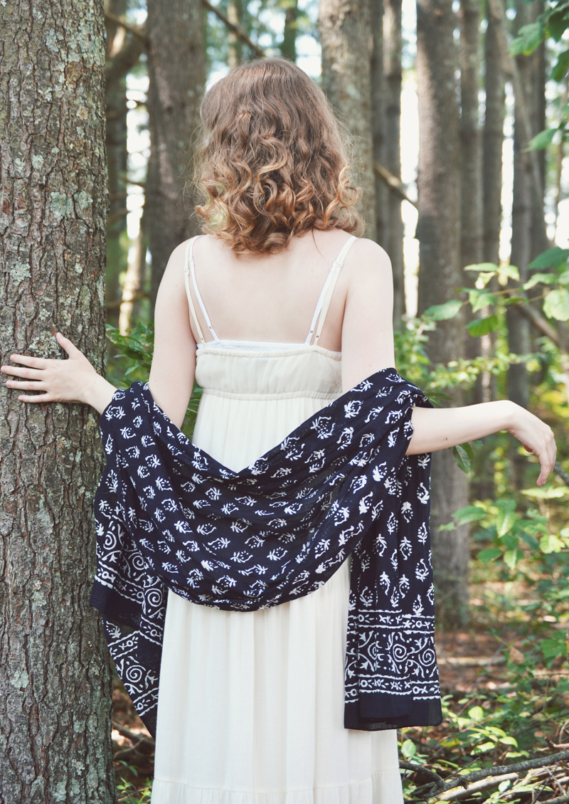 The Flying Clubhouse: Summer Fancy | Novica cotton shawl