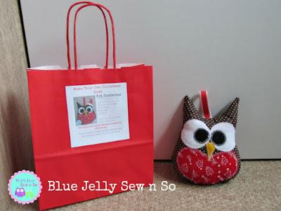 Sew_It_Yourself_Fabric_Kit_Christmas_Owl