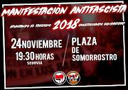 Segovia Manifestación Antifascista 24N