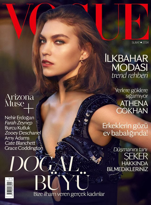 Arizona Muse Vogue Turkey cover