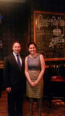 For the Record, He's Neutral...Rob Astorino at Warren County Event With Elise Stefanik