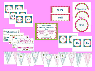 TeacherspayTeachers classroom decorating set