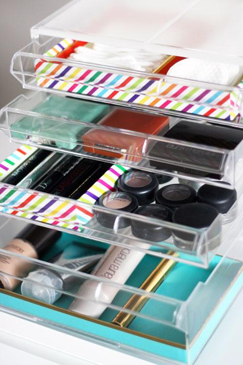 """UHeart Organizing: """"Makeup"""" a Beautiful Organization System!"""