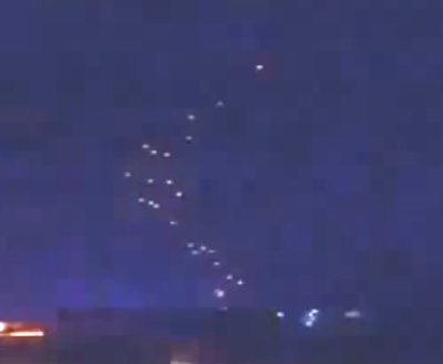 UFO Sightings Glowing UFO's Spotted Above Mexico, UFO Sighting News