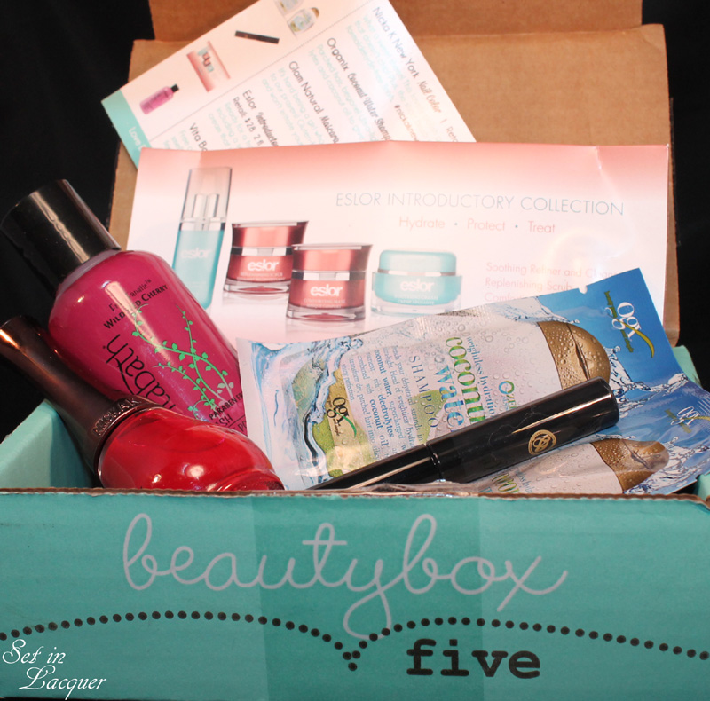 Beauty Box Five - Summer Chic - June 2014 box