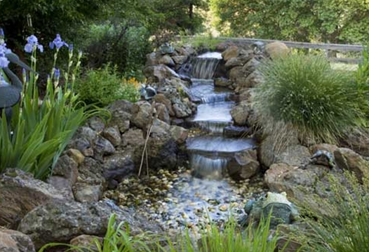 The backyard guru more steps to building your own pond for Build a simple backyard waterfall