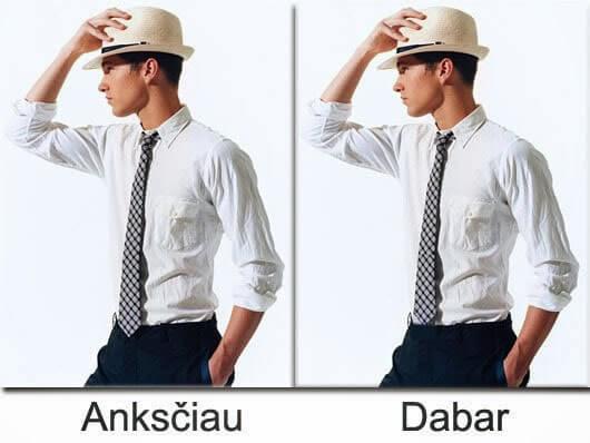 Kaklaraiščio ilgis