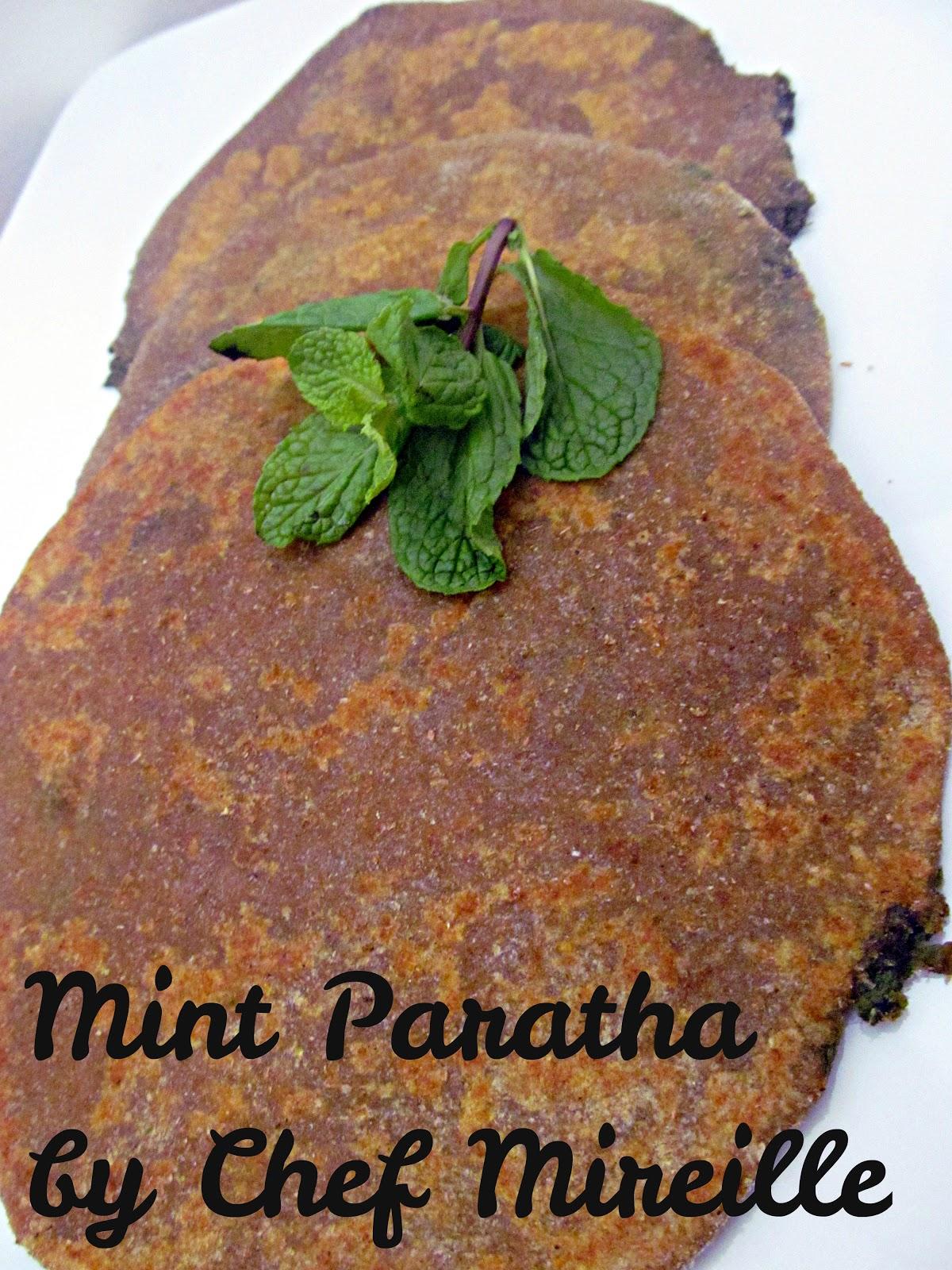 Mint Paratha - The Schizo Chef