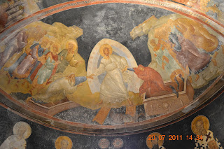 afresco em Chora Church - Istambul Turquia