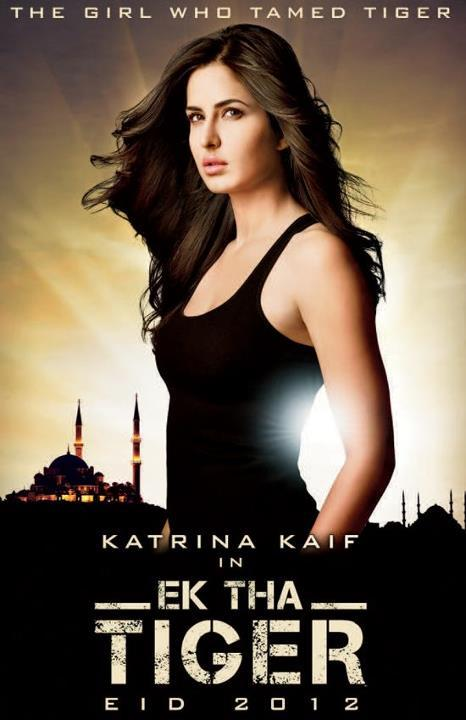 Katrina Kaif In Ek Tha Tiger looks fit in a black top - Katrina Kaif In Ek Tha Tiger black top pic