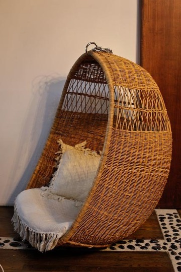 The Hanging Chair! What An Unexpected Piece To Have In My Home And This Is  My Favorite, From Anthropologie Of Course.