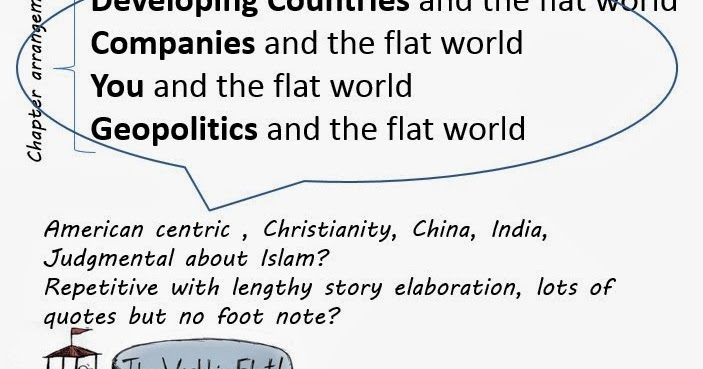 thesis of the book the world is flat
