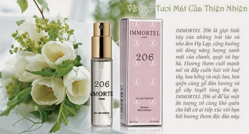 www.123raovat.com: Nước hoa Immortel 5 Sens, No8, No777, No89, No3, No9