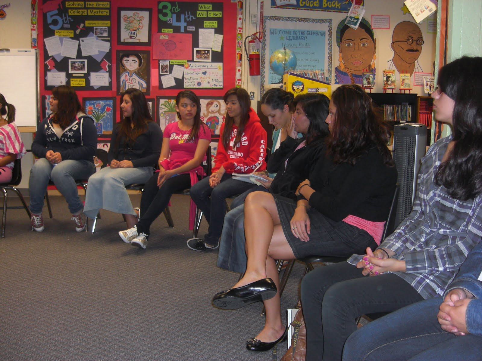 The Circulo De Mujeres Provides A Necessary Space For Female Students To Explore Personal And Academic Issues Critical To Their Healthy Development