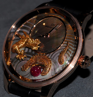 Dragon or jaune cadran Montre Jaquet Droz