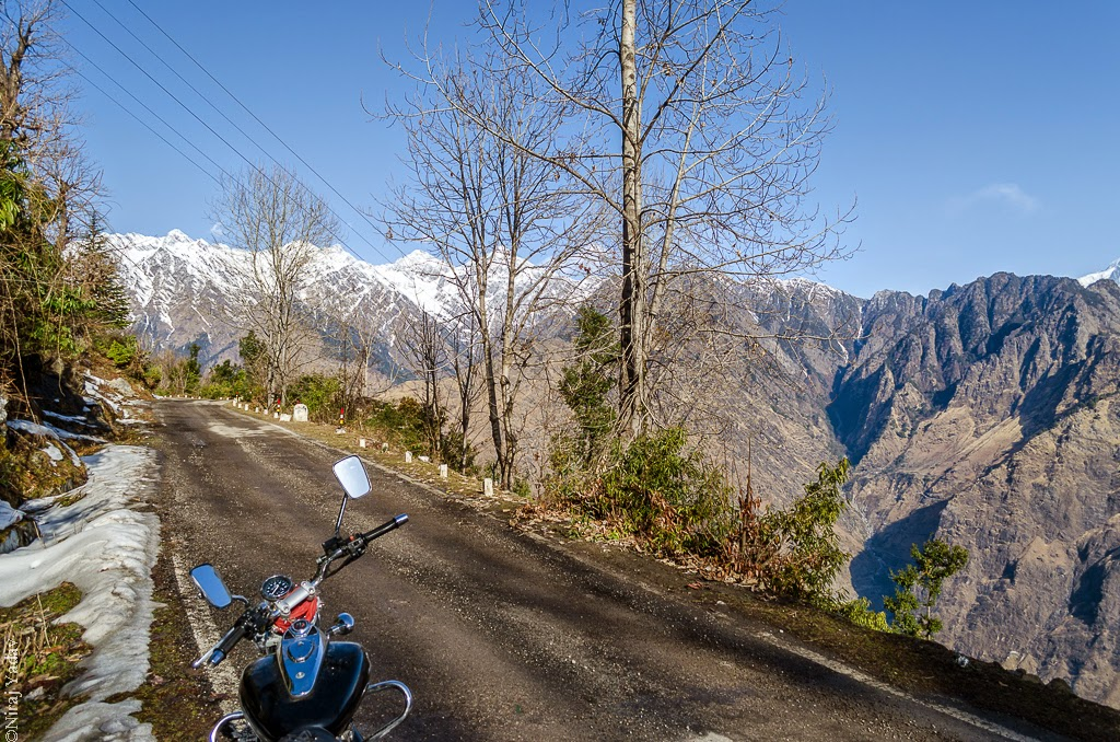 Joshimath to Auli on bike