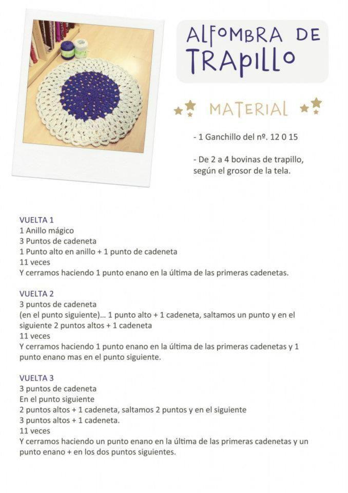 patrón-alfombra-redonda-blanca-lila-trapillo