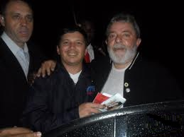 Jarlis e Lula em Guarulhos - SP