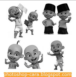 buatlah foto menjadi hitam putih dengan desaturade. cara nya klik ...