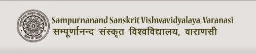 Sampurnanand Sanskrit University 2014 Results