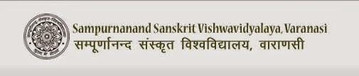 Sampurnanand Sanskrit University 2014 Results