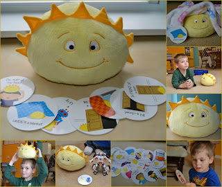 Sunshine+Collage Hello Sunshine! toddler fun game