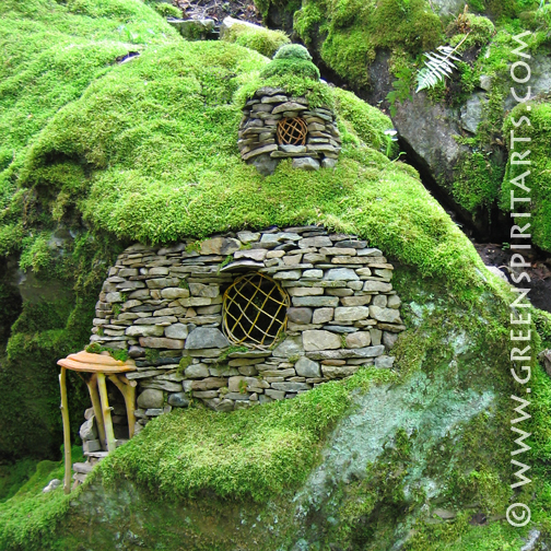 Lloyd S Blog Emerald Mossy Fairy House
