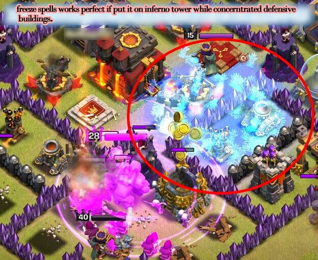 Spell in Clash of clans