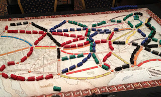 UK Games Expo Giant Ticket to Ride