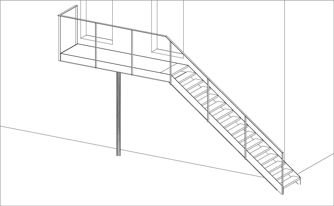Interieur design for Trap tekenen programma