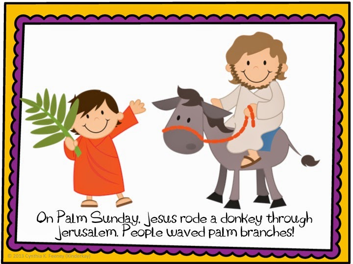 Holy Week For Young Children Love Those Kinders
