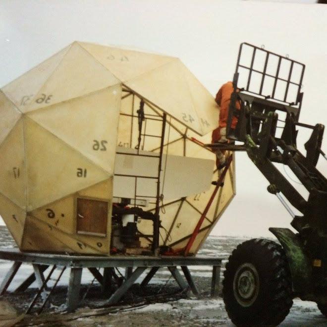 Radaristas en la Antártida...