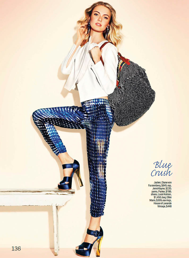 Megan McNierney by Francisco Garcia for Cosmopolitan January 2012