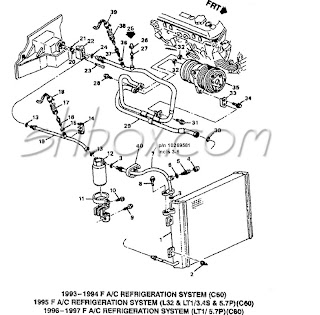 Ac System on 1992 Chevy Silverado Wiring Diagram