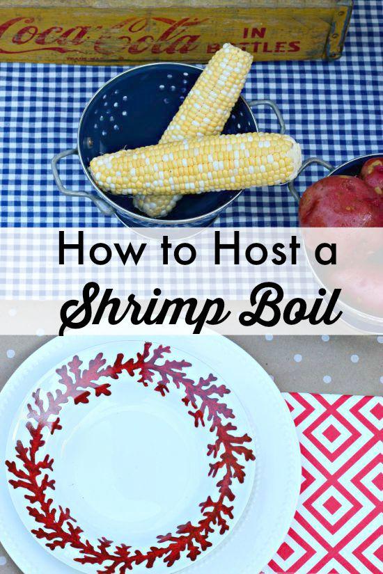 how to host a shrimp boil