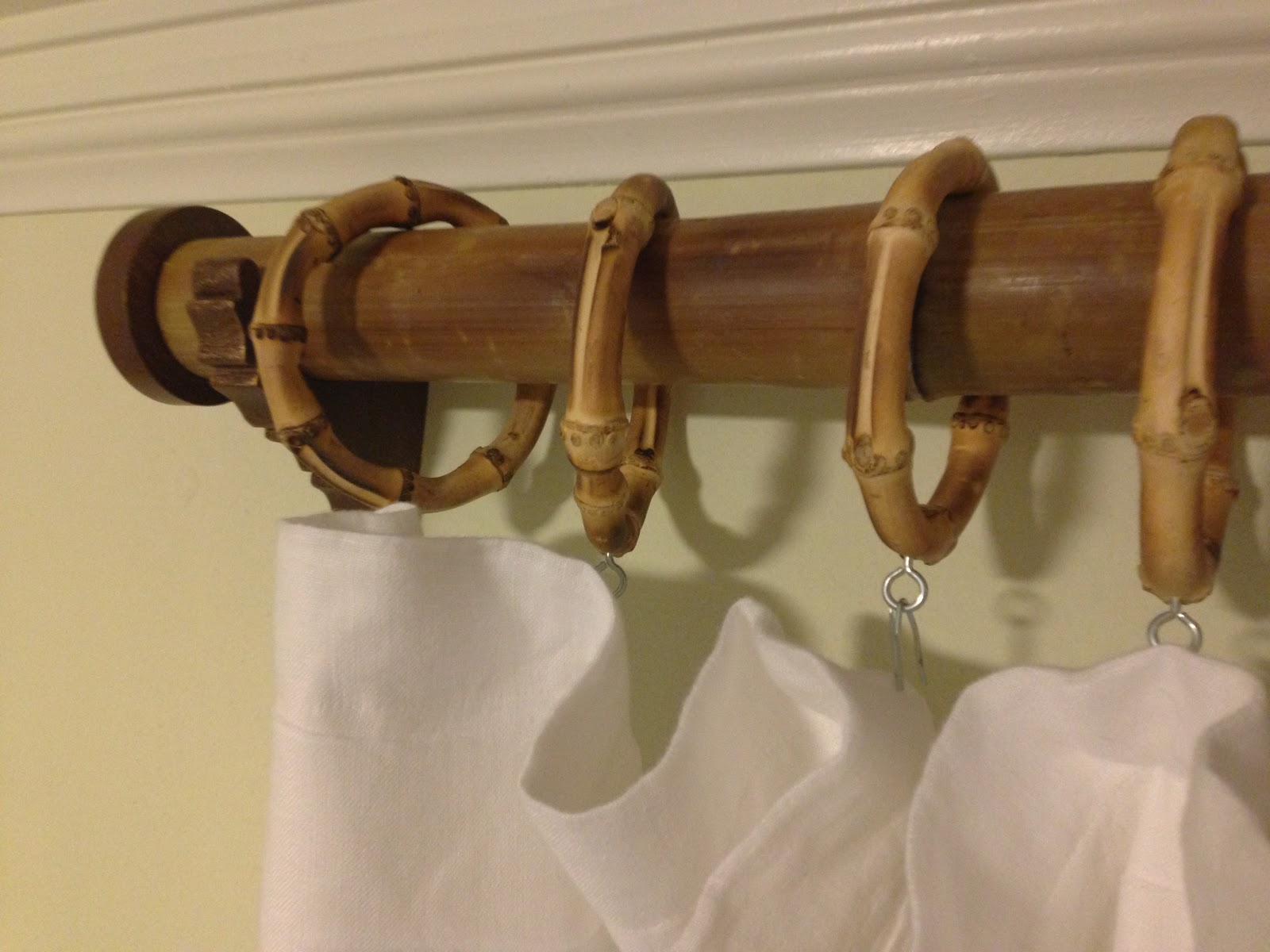... Juice: Sustainable, Eco-Friendly {and Pretty!} Bamboo Curtain Rods