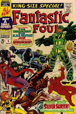Fantastic Four Annual #5, Psycho-Man, the Inhumans and the Black Panther