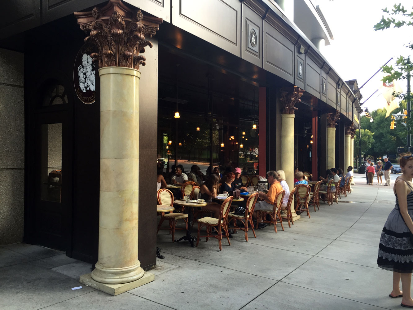 Independent Restaurant Review Cafe Intermezzo Park Place At