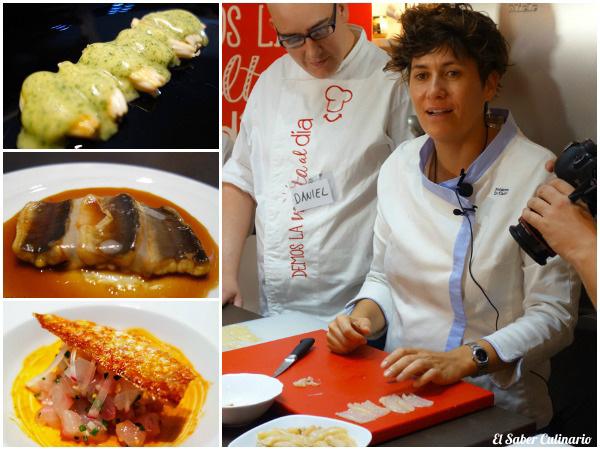 La cocina de Macarena de Castro chef estrella michelin